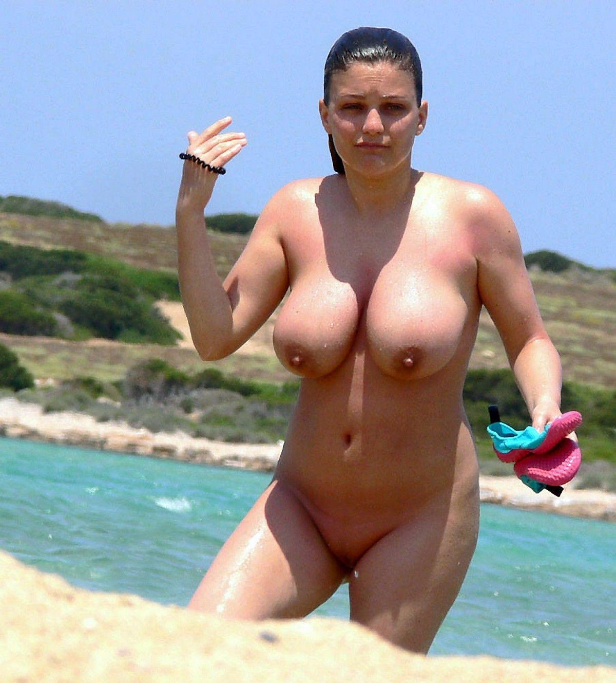 Free Porn Beach, Big Tits Pics